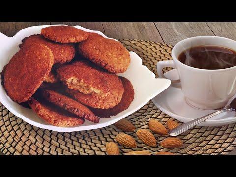 Песочное печенье. Диетическое миндальное печенье для диабетика