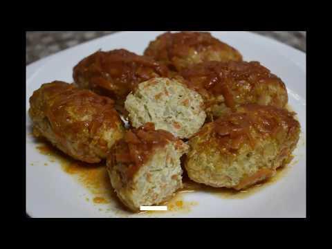 Рецепт блюда/Ленивые голубцы с куриного мяса в томатном соусе/Как приготовить/Способ приготовления/