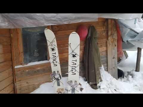 """Зимний поход на избу """"Яковка"""". Готовим блюдо Рубабу."""