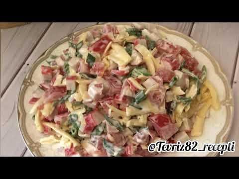 """Быстрый и легкий салат """"Красное Море"""", когда гости на пороге! Salad """"Red sea"""""""