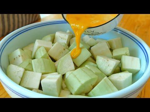 【小穎美食】茄子加豆腐這樣做太香了,不用炒,不用蒸,出鍋比紅燒肉還香!