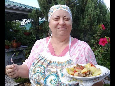 Томленое Мясо в Казане