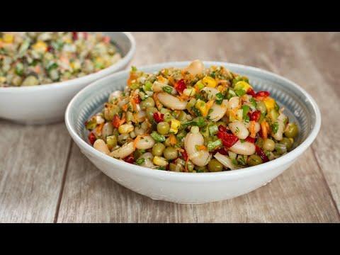 Полезное может быть вкусным! Легкий овощной салат