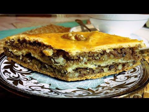 Пахлава / Самый Простой Домашний Рецепт / с грецким орехом / рецепты Лайла