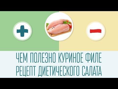 Чем полезно куриное филе + рецепт диетического салата
