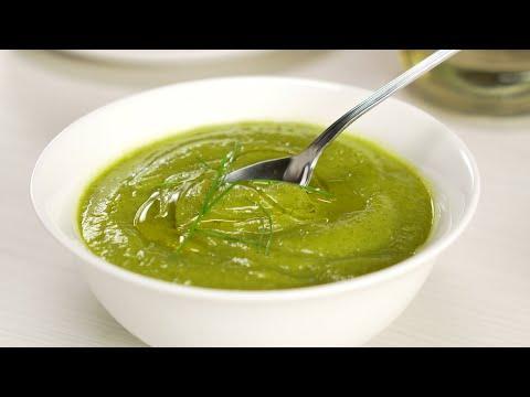 Легкий суп-пюре из кабачков за 15 минут. Рецепт от Всегда Вкусно!
