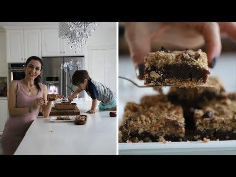 Быстрый и Очень Вкусный - Гранола Пирог с Финиками - Рецепт от Эгине - Heghineh Cooking Show