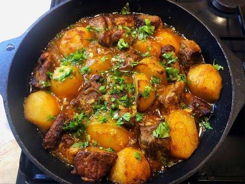 Блюдо которое покорит всех, мясо с картошкой ! Казан-Кебаб по домашнему !