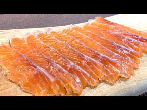 Солена сьомга - домашна: по-вкусно, по-икономично и много лесно/ Как засолить красную рыбу дома
