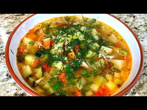Простой СУП с консервированным тунцом! Вкусный Рыбный суп из консервов. Рецепт из рыбы за 30 минут.