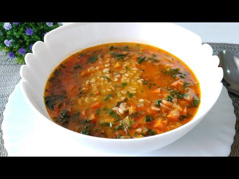 У вас есть стакан булгура? АНОМАЛЬНО ВКУСНО! Суп который едят все: и муж и дети, и добавки просят!!!