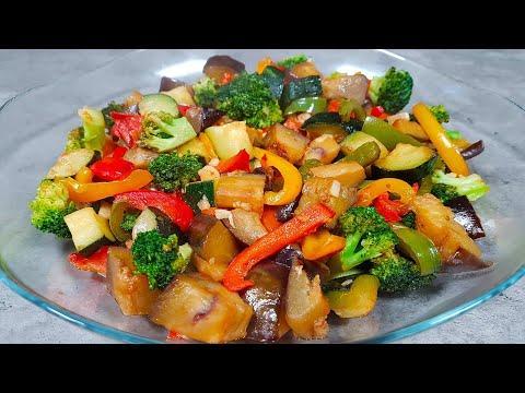 Ужин Без Мяса. Овощи На Сковороде За 15 Минут. Не Заметила, Как Съели.