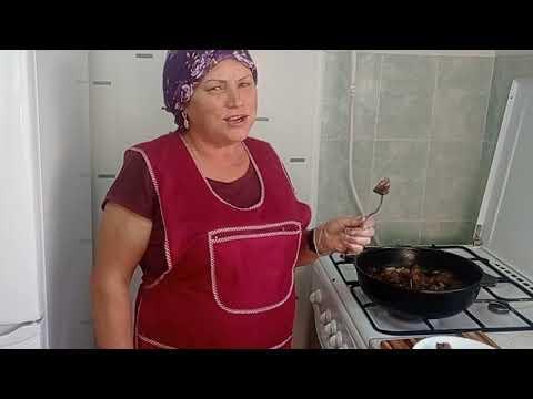 Мясо баранины тающее во рту . Узбекское блюдо  - Жиз .
