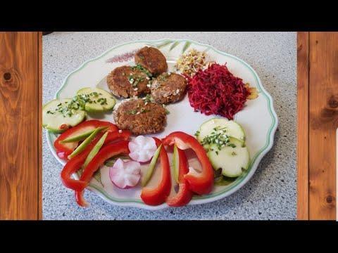Вкусные простые Веганские котлеты .Здоровое раздельное питание
