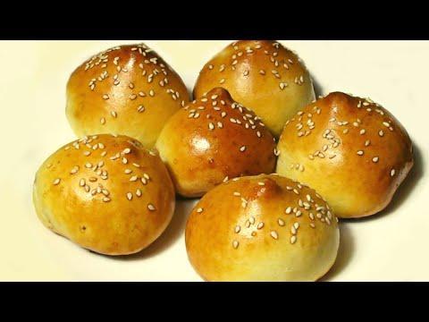 Булочки с мясом / Универсальное тесто / Buns recipe / Universal dough