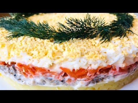 Салат «МИМОЗА» Классический Рецепт Ну, Оочень Вкусный!!!