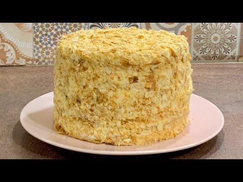 Торт Наполеон - всеми любимый и хорошо знакомый тортик : нежные хрустящие коржи и крем Пломбир...ммм