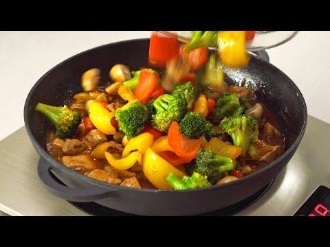 Вкусный ужин! 4 блюда ИЗ КУРИЦЫ И ОВОЩЕЙ НА СКОВОРОДЕ за 30 минут. Рецепты от  Всегда Вкусно!