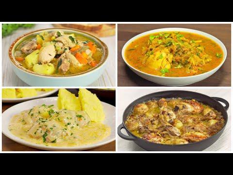 Четыре превосходных блюда с тушеной курицей. Рецепты от Всегда Вкусно!