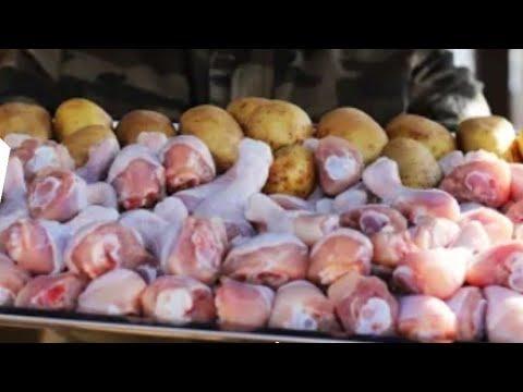 Мясо с картошкой / Вкуснейший казан кабоб из Курицы