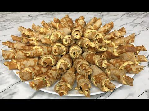 Печеночные Рогалики Шедевр в Мире Закусок! / Рулетики из Печени / Праздничная Закуска / Liver Rolls