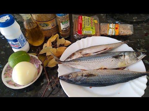 Засолка скумбрии ♥ Солим рыбу с лимонным соком