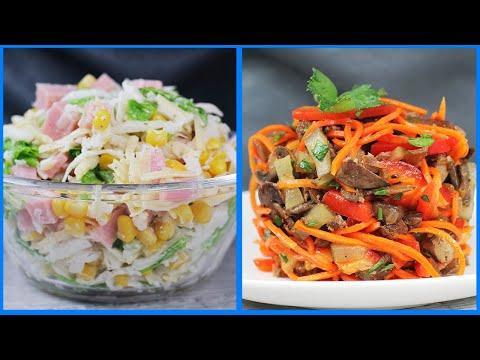 5 Простых салатов на каждый день вкусно и быстро