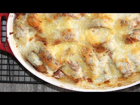 Моя семья в восторге от этого блюда! Croque Monsieur Bake по рецепту канадского шефа Анны Олсон.