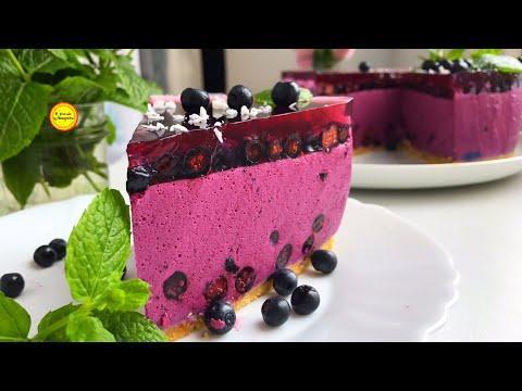БЕЗ выпечки торт Так Просто  И Так Вкусно  Муссовый  торт без сливок  Рецепт