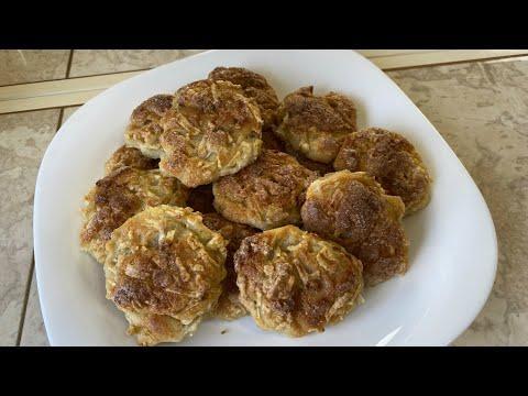 Вкусное Печенье без яиц, очень мягкое. Творожно-яблочное печенье к чаю.