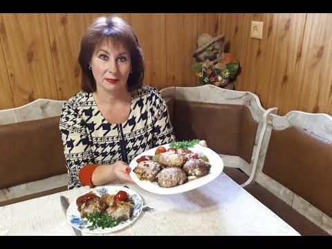 Мясо фаршированное грибами, картофелем и сыром  #МясоВдуховке