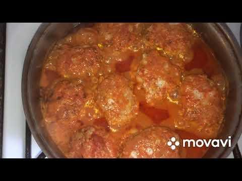 Блюда из фарша. Суп с фрикадельками. Самые вкусные котлеты. Тефтели в томатно-сливочном соусе.