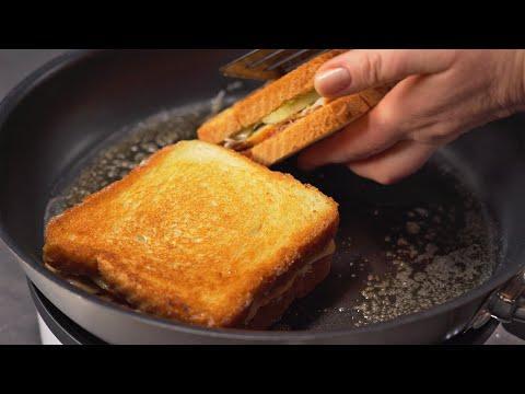 4 ВКУСНЫХ ГОРЯЧИХ БУТЕРБРОДА. Быстро и вкусно, к завтраку или на ужин. Рецепты от Всегда Вкусно!