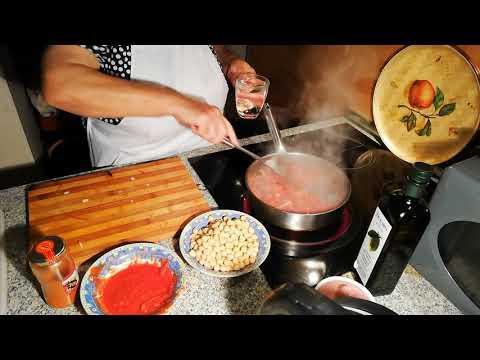 Как готовить Горох Нут с chorizo. Испанское национальное блюдо