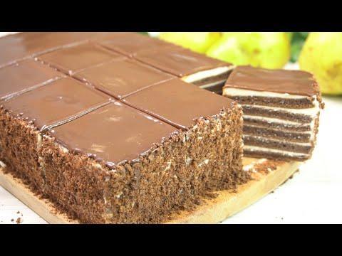"""Вкусный Торт """"Молочные реки"""" Сливочный вкус, Без грамма масла, Супер простой рецепт"""