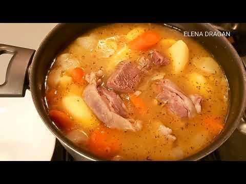 Турецкая Хашлама ( haşlama ). Отличное блюдо для холодной погоды! Очень вкусное и сытное блюдо! Еда