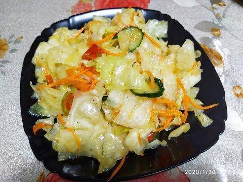Корейская Капуста Простой Рецепт / Капуста по-корейски