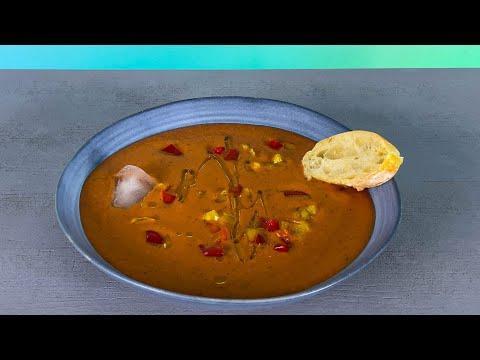 Гаспачо. Холодный летний суп. Простой и легкий рецепт!