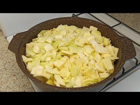 На второй день, ещё вкуснее!!! Готовьте сразу двойную порцию. Мусульманка готовит.