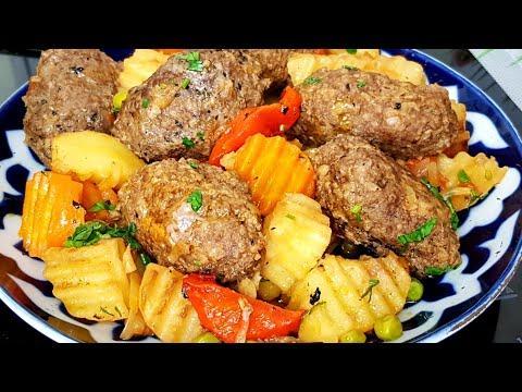 Очень Вкусное Блюдо из Котлет и картофеля