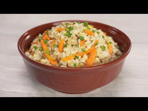 Перловая каша с овощами. Идеальное блюдо и отличный гарнир. Рецепт от Всегда вкусно!
