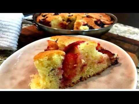 """Сливовый пирог из газеты """"Нью-Йорк Таймс"""". Простой, вкусный, легендарный пирог со сливой."""