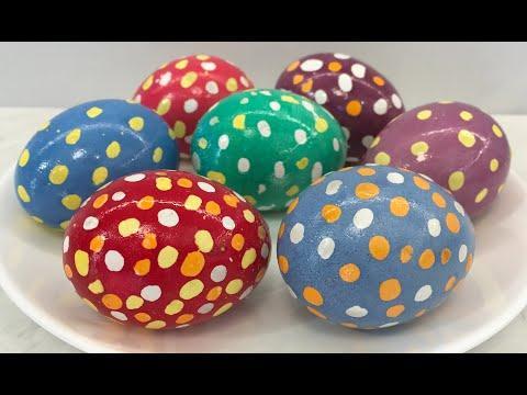 Яйца КРАПАНКИ Оригинально, Очень Красиво и Просто!!! / Яйца на Пасху / Пасхальные Яйца / Easter Eggs