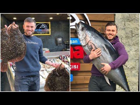 Самые вкусные блюда из рыбы от шеф-повара, арки двух Йылмаз удивительные рыбы блюда турецкой Ershan