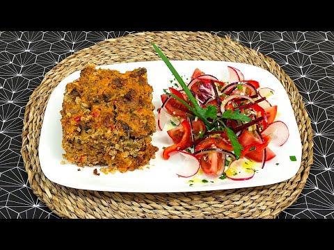 ГРЕЧКА В ДУХОВКЕ.Запеканка из гречки с мясом и овощами.БЛЮДА И РЕЦЕПТЫ!