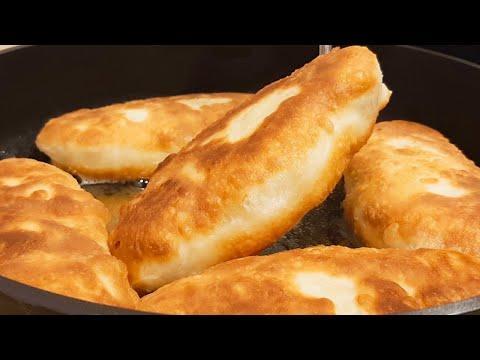 Идеальное Тесто для Пирожков. Жареные Пирожки на Кефире с капустой, с картошкой