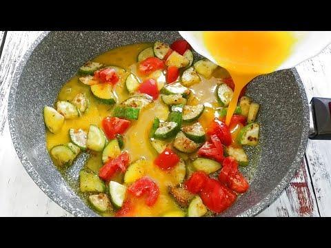 Летом яичницу на завтрак буду готовить только так! Очень Вкусно Быстро и Просто!