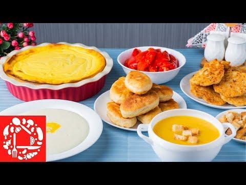 МЕНЮ №6 НА КАЖДЫЙ ДЕНЬ. 6 Простых Рецептов на Завтрак, Обед и Ужин