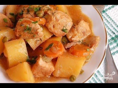 Тушеная картошка с мясом в духовке. Вкусные и простые рецепты