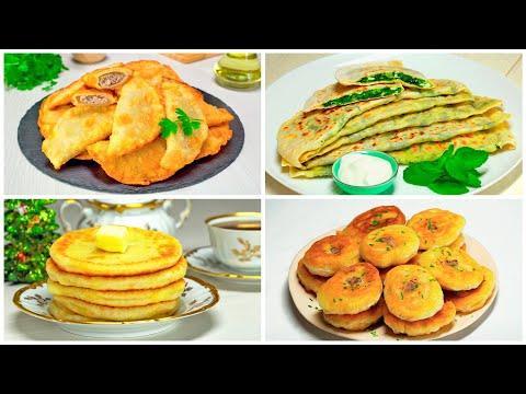 Беляши, чебуреки, кутабы и лепешки. 4 рецепта вкусных пирогов на сковороде от Всегда Вкусно!